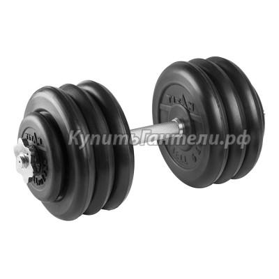 Гантель разборная 35 кг TITAN Barbell